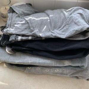 Maternity shirts bundle